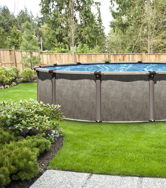 Patriot Hybrid Above Ground Pool